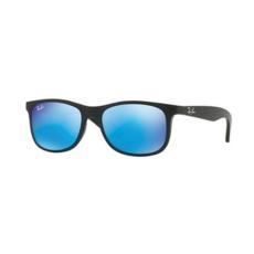Ray-Ban RJ9062S 701355 MATTE BLACK ON BLACK FLASH BLUE gyermek napszemüveg