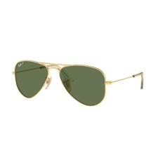 Ray-Ban RJ9506S 223/2P JUNIOR AVIATOR ARISTA GREEN POLARIZED gyermek napszemüveg napszemüveg