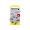 Rayovac Extra Advanced hallókészülék elem típus V10AT 6db/csom