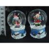 Rázógömb, karácsonyi figurákkal (1db)