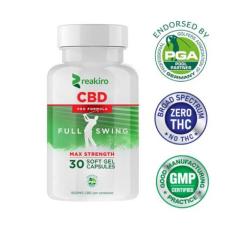 REAKIRO Reakiro Sport Pro Formula CBD Soft Gel Capsule - 1500mg - 30db vitamin és táplálékkiegészítő