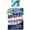 Real Madrid ágyneműhuzat 140×200cm, 70×90 cm