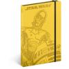 REALSYSTEM Design notesz - Star Wars - Droids, lined, 13 x 21 cm