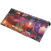 REALSYSTEM Képes asztali naptár - Meditáció 7941 - kék