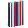 REALSYSTEM Mágnessel záródó heti naptár - Stripes 2018, 10,5 x 15,8 cm