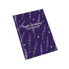 REALSYSTEM Tanítói zsebkönyv, A5, heti, REALSYSTEM, levendula naptár, kalendárium