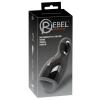 Rebel Rebel - fűthető, vibráló, fel-le mozgó maszturbátor (fekete)