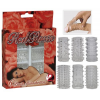 Red Roses Penis Ring Set 6 pcs