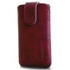 Redpoint BRIDGE-bordeaux-HTC Wildfire S, SonyErics.Xperia Mini Pro... tok viaszolt újrahasznosított bőrből - Redpoint