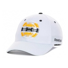 Reebok Boston Bruins baseball sapka NHL White Out Flex - S/M