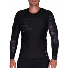 Reebok RCF LS COMPRESSION BLACK CROSS T-SHIRT