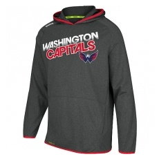Reebok Washington Capitals fĂŠrfi kapucnis pulóver grey Travel and Training Performance - M