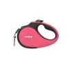 Reedog Senza Premium automata szalagos póráz S 15 kg / 5 m / rózsaszín