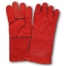 Reflex RED Hegesztőkesztyű Kesztyű (Piros Hegesztőkesztyű hasított marhabőrből)