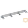 Reichle & De-Massari R&M R306179 1U gyűrűs panel, műanyag