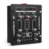 Resident DJ DJ-25 DJ-mixer keverő pult, erősítő, bluetooth, USB, fekete/fehér