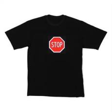 Resident DJ Resident DJ LED póló Stop, L méret