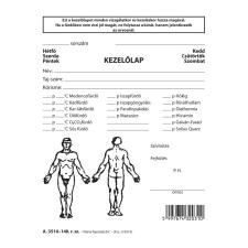 Reuma kezelőlap 118x150 mm nyomtatvány