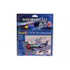 Revell Model Set P-47 M Thunderbolt katonai repülő makett revell 63984