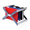 REXEL Függőmappa tároló, műanyag, REXEL Crystalfile Extra Organisa Frame (FMR3000103)