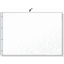 REXEL Genotherm, lefűzhető, A3, 80 mikron, narancsos felület, fekvő, REXEL lefűző