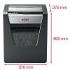 """REXEL Iratmegsemmisítő, mikrokonfetti, 10 lap, REXEL, """"Momentum M510"""""""