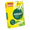REY Másolópapír, színes, A3, 80 g, REY Adagio, intenzív sárga