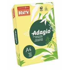 """REY Másolópapír, színes, A4, 80 g,  """"Adagio"""", neon banán fénymásolópapír"""