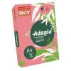 """REY Másolópapír, színes, A4, 80 g,  """"Adagio"""", neon málna"""