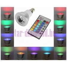 RGB színváltós LED spot izzó távirányítóval (E14-es foglalat) izzó