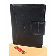 RIALTO fekete, nyelves pénz-és irattárca RP6525Q-03