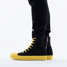 Rick Owens DRKSHDW Sneaks DU20F1800 TWP BLACK/YELLOW