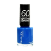 Rimmel London 60 Seconds Super Shine Nail Polish Női dekoratív kozmetikum 405 Rose Libertine Körömlakk 8ml