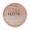Rimmel London - Stay Matte Long Lasting Pressed Powder Női dekoratív kozmetikum 009 Amber Smink 14g