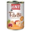 RINTI Filetto 6 x 420 g - Csirke & kacsa szószban