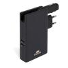 """RivaCase Hordozható akkumulátor, microUSB, 5000 mAh, hálózati adapter és autós töltő, RIVACASE """"VA4749"""", fekete"""