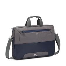 """RivaCase Notebook táska, 15,6""""  """"Suzuka 7737"""", acélkék- szürke kézitáska és bőrönd"""