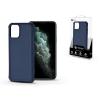 ROAR Apple iPhone 11 Pro Max szilikon hátlap - Roar Carbon Armor Ultra-Light Soft Case - kék