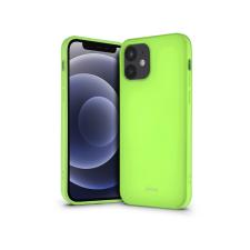ROAR Apple iPhone 12 Mini szilikon hátlap - Roar All Day Full 360 - lime tok és táska