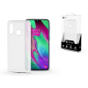ROAR Samsung A405F Galaxy A40 szilikon hátlap - Roar Carbon Armor Ultra-Light Soft Case - clear