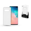 ROAR Samsung G975U Galaxy S10+ szilikon hátlap - Roar Carbon Armor Ultra-Light Soft Case - clear