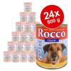 Rocco Classic óriáscsomag 24 x 800 g - Marha & szárnyasszív