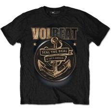 Rock Off Volbeat Anchor Mens Black T Shirt: L
