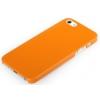Rock Rock EtheREAL műanyag hátlaptok Apple iPhone 5, 5S, SE-hez narancs*