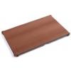Rock Rock Texture oldalra nyíló bőrbevonatos fliptok Microsoft Surface-hez barna*