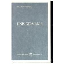 Rolf Peter Sieferle Finis Germania – Rolf Peter Sieferle idegen nyelvű könyv
