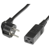 ROLINE Cable ROLINE hálózati tápkábel Schuko IEC320 - C19 16A 2.0 m