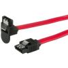 ROLINE Cable ROLINE SATA 6Gbps reteszes hajlított 1m