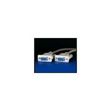 ROLINE Cable ROLINE Soros RS-232 összekötő F/F 1,8m kábel és adapter