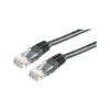 ROLINE Cable ROLINE UTP CAT5e patch 3m fekete
